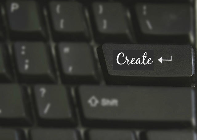 Laptop keys - Create 2